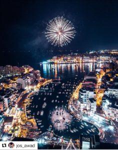 Malta fireworks; malta; maltese culture